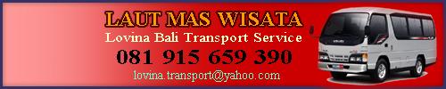 Lovina transport service